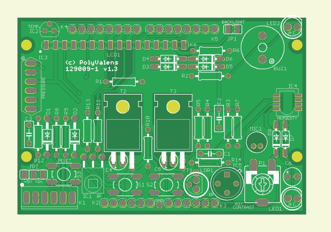 Platine polyvalente Arduino (129009-1)