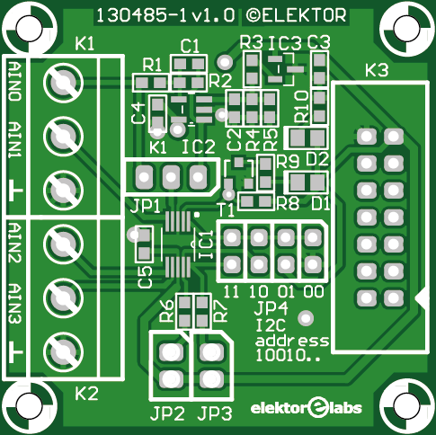 module CA/N pour Arduino, carte Linux, etc. (130485-1)