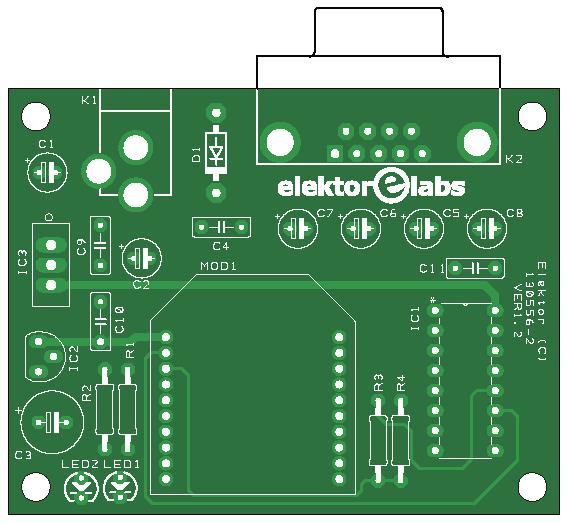 Elektor pageur ZigTexter, émetteur, 130556-2