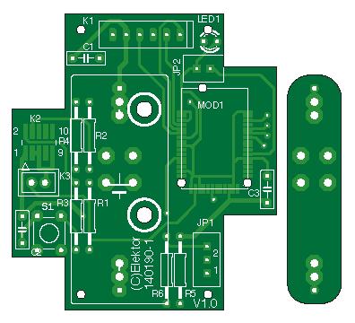 thermomètre sans fil Bluetooth (140190-1)