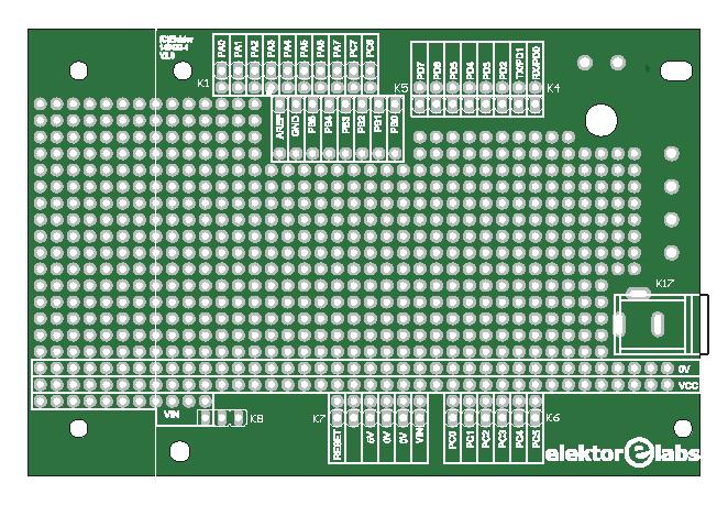 Platino Proto Board (140433-1)