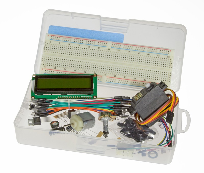Arduino in control (kit for book) (149015-71)