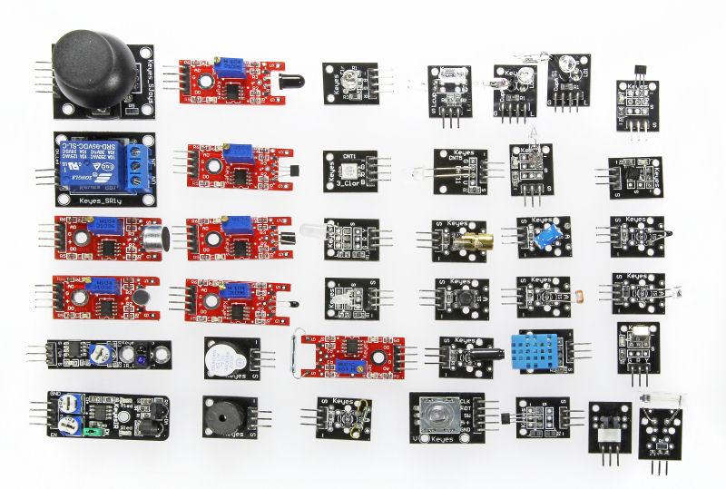 35 capteurs pour Arduino