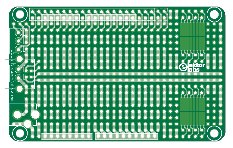 carte de prototypage Elektor Labs