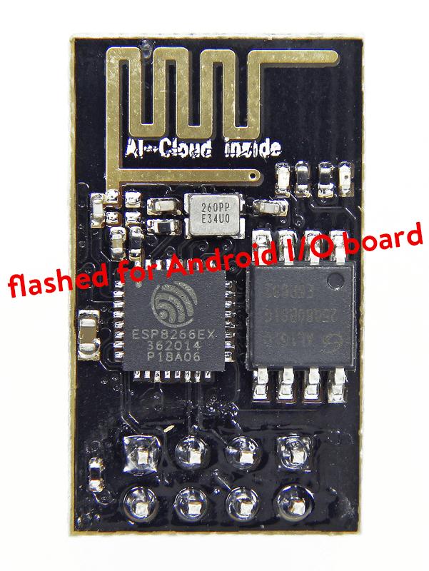 Module Wi-Fi ESP8266 programmé (150703-91)