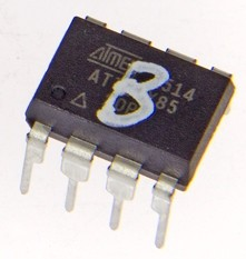ATTINY programmé pour bouton de quiz (blue) 150499-44