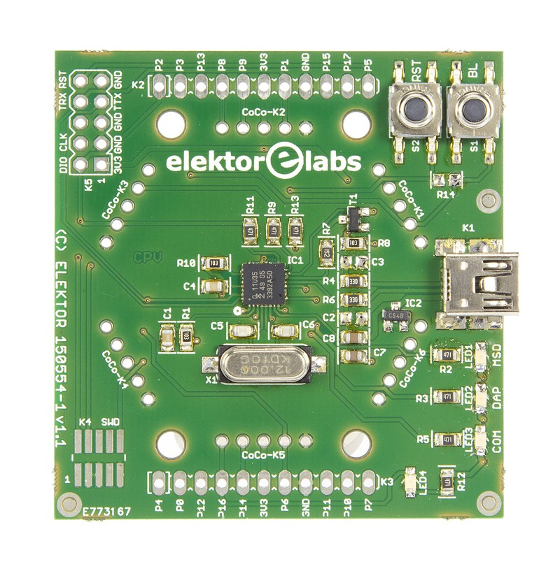 Interface mbed Elektor (150554-71)