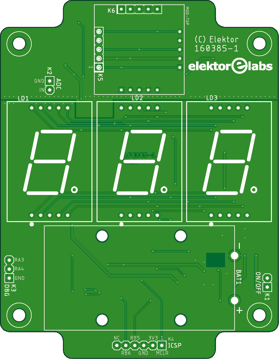 Experimental Doppler Radar - bare PCB (160385-1)