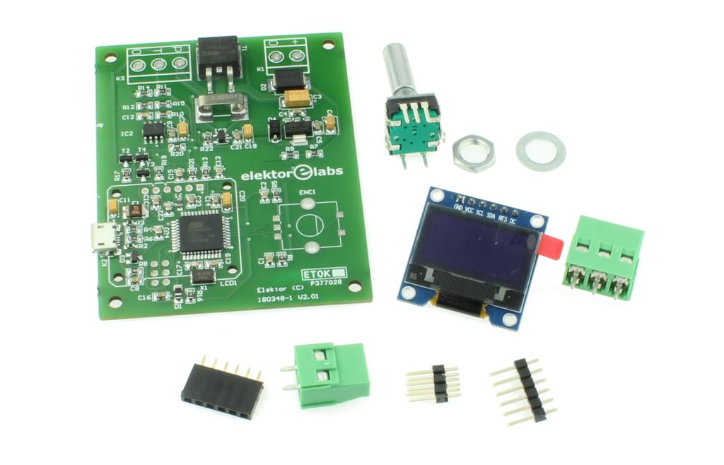 DIY solder station – kit of parts (180348-91)