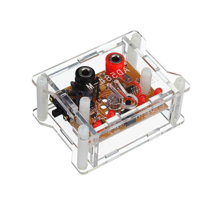 AD584 4-ch 2.5V/7.5V/5V/10V High Precision Voltage Reference Module with Housing