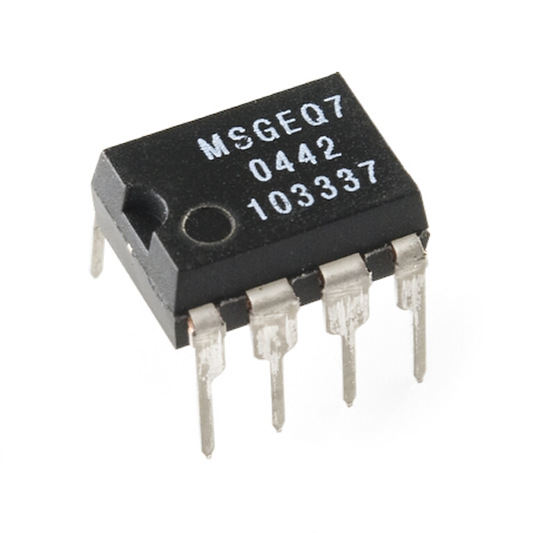 MSGEQ7 Seven Band Graphic Equalizer