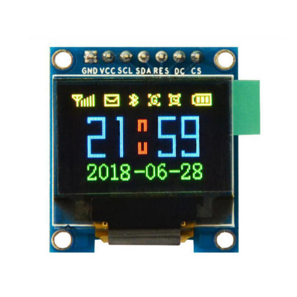 0.95 inch 7-pin full-color SSD1331 OLED display