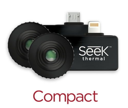 Seek Compact Thermal Imaging Camera (206x156) for Android