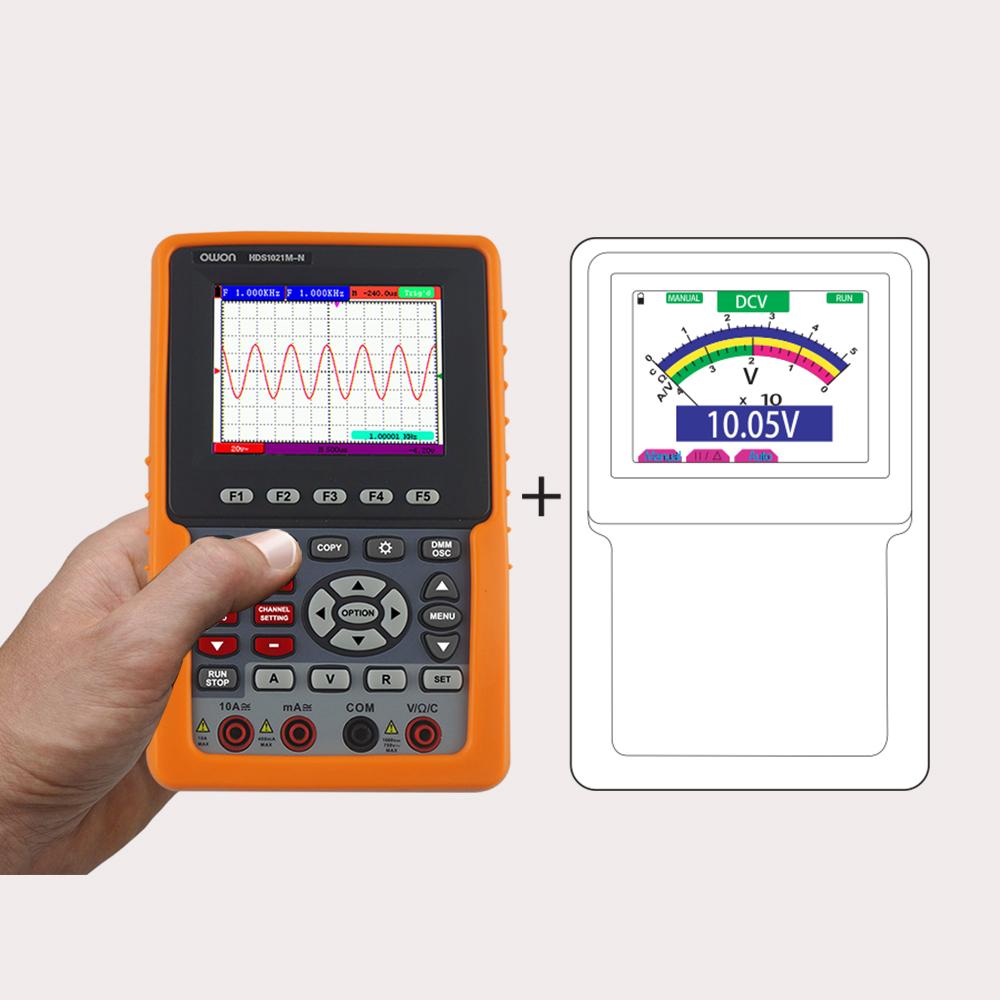 OWON HDS1021M-N 1-ch Oscilloscope + Multimeter (20 MHz)