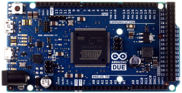 Carte Arduino Due