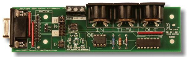 Platine MIDI (EB021)