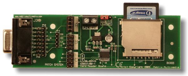 Platine de lecture de carte SD/MMC (EB037)
