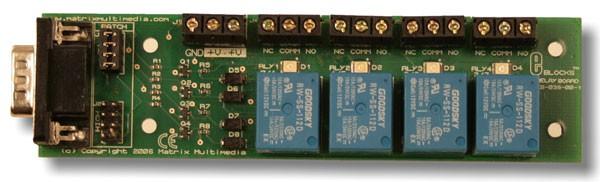 Platine de relais (EB038)