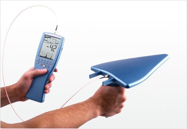 Analyseur de spectre de poing Aaronia Spectran HF-2025E V3