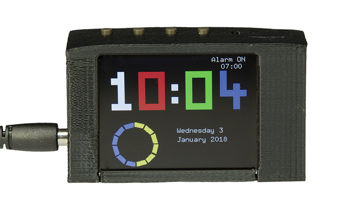 "3-Way Display Alarm with 2.2"" TFT (Kit 
