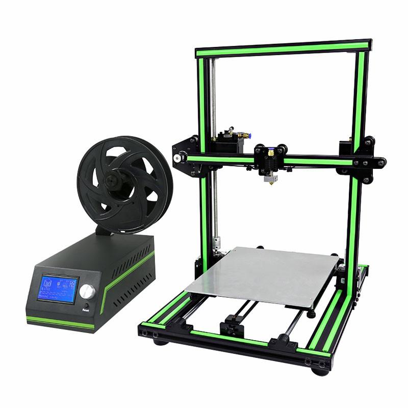 Imprimante 3D Anet E10 (montée en 15 mn env.) avec 3 bobines de PLA