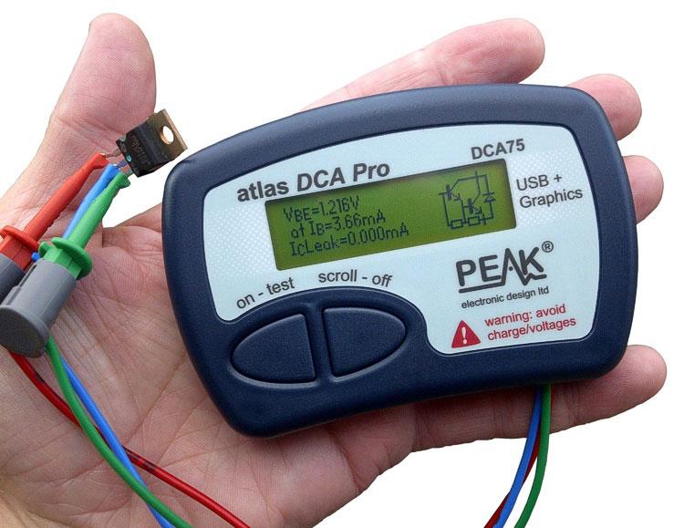 Atlas DCA75 Pro – Analyseur perfectionné pour semi-conducteurs
