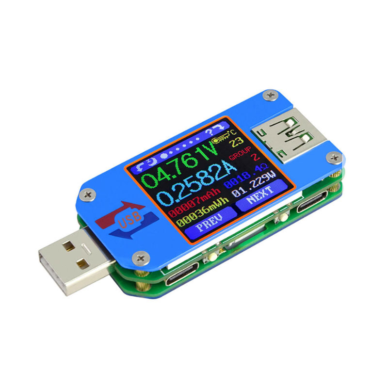 Bakeey UM25C USB Multimeter Logger with Bluetooth