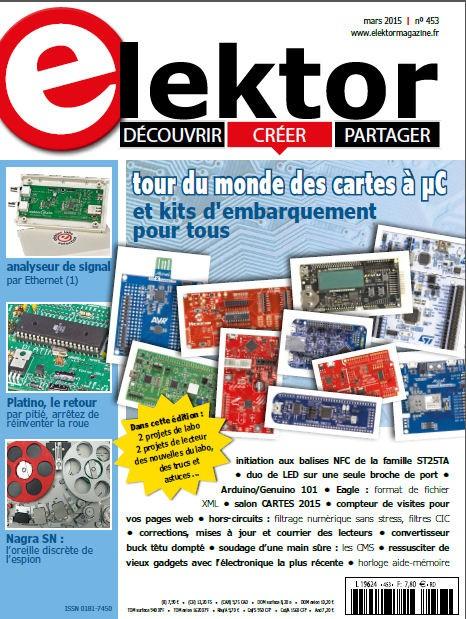 Elektor Magazine FR Mars 2016 (PDF)