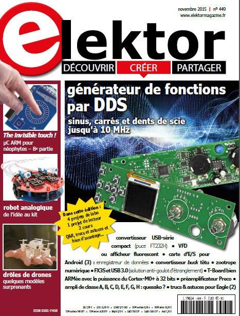 Elektor Magazine FR Novembre 2015 (PDF)