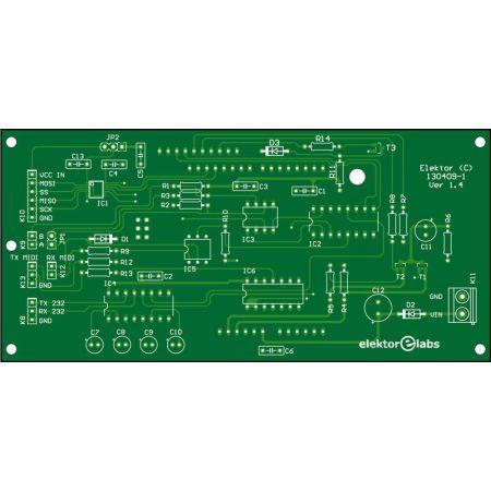 Platino Serial Port Tester - bare PCB (130409-1)