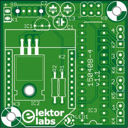 4-Channel (Xbee receiver) Remote Control - bare PC (150408-4)