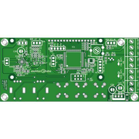 FPGA-DSP Board for Narrowband SDR - top