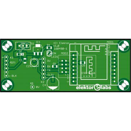 USB Programming Adaptor for ESP8266 - bare PCB