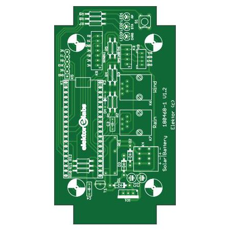 ESP32 Weather Station - Bare PCB (180468-1)