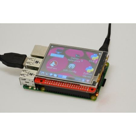"Watterott 2.8"" Touchscreen for Raspberry Pi"