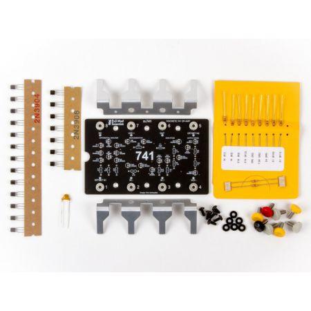 XL741 Discrete Op-Amp Kit contents