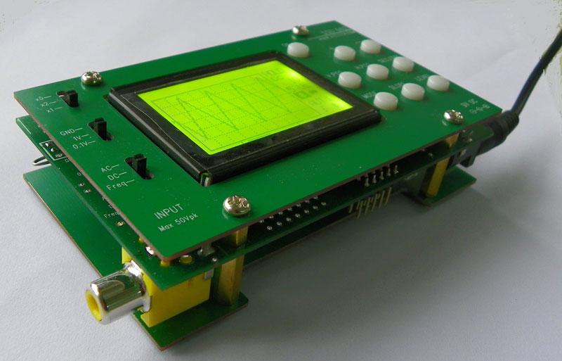 DSO062 - Oscilloscope à LCD en kit