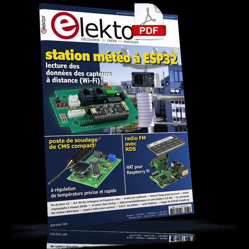 Elektor Magazine Janvier/Février 2019 (PDF)