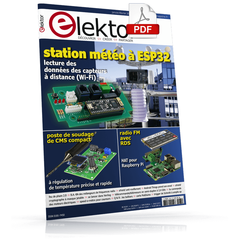 Elektor Magazine FR Janvier/Février 2019 (PDF)