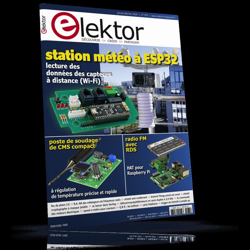 Elektor Magazine Janvier/Février 2019