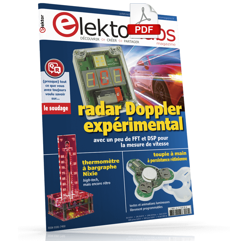 Elektor Magazine Juillet/Août 2018 (PDF)
