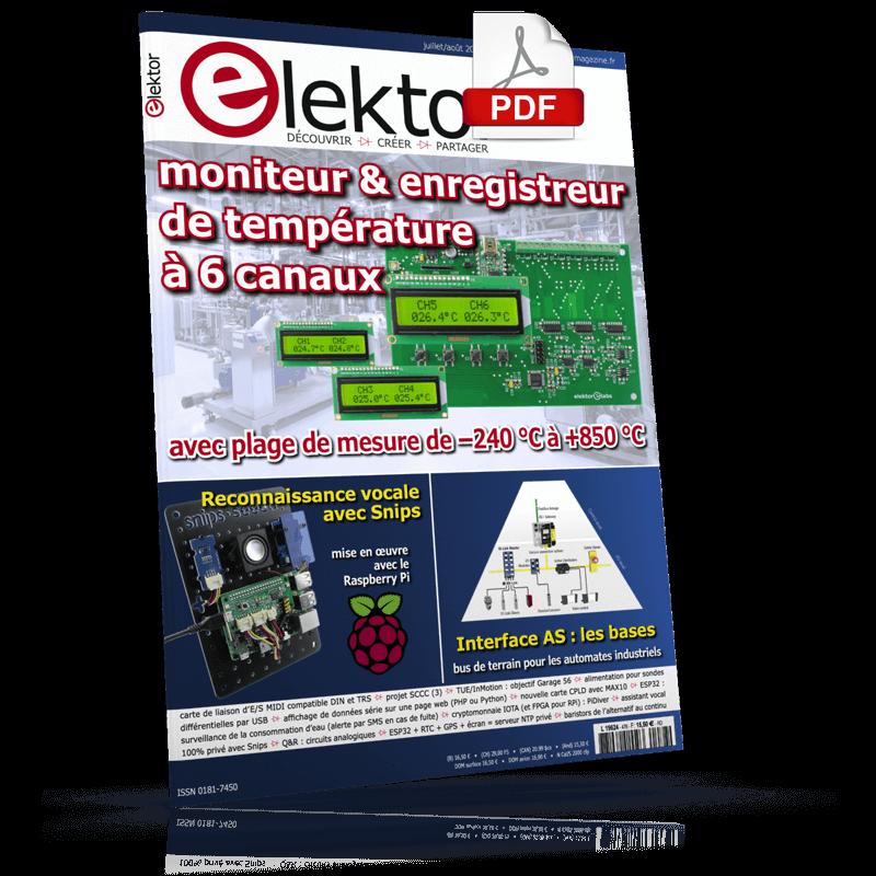Elektor Juillet/Août 2019 (PDF)