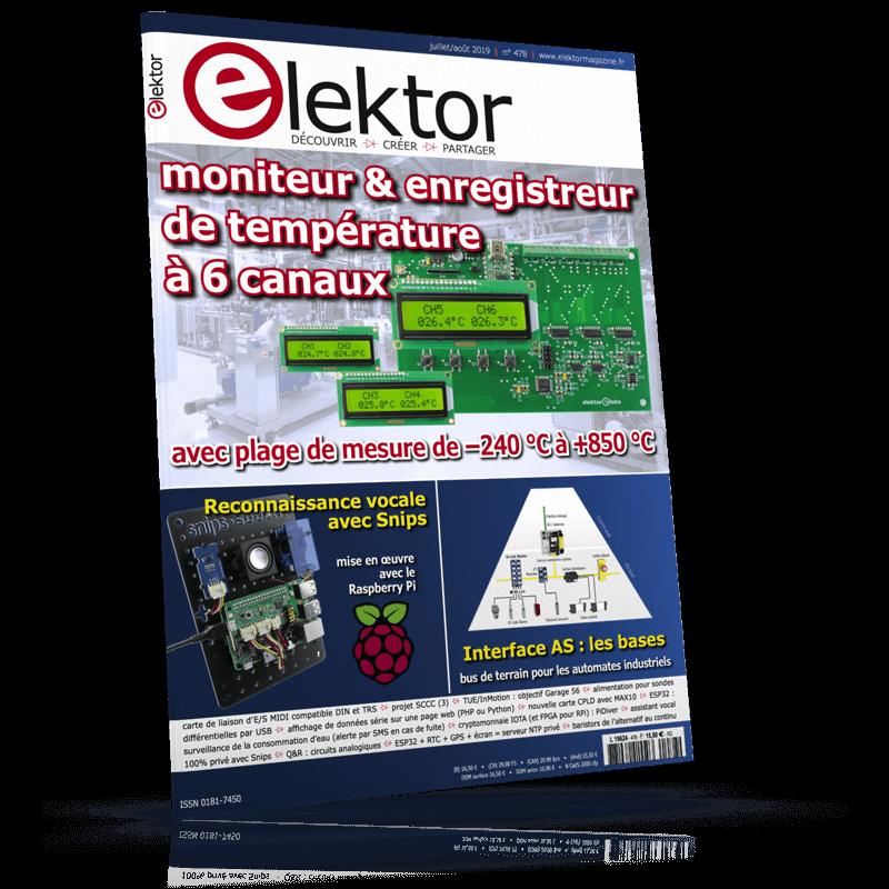 Elektor Juillet/Août 2019 (franco de port)
