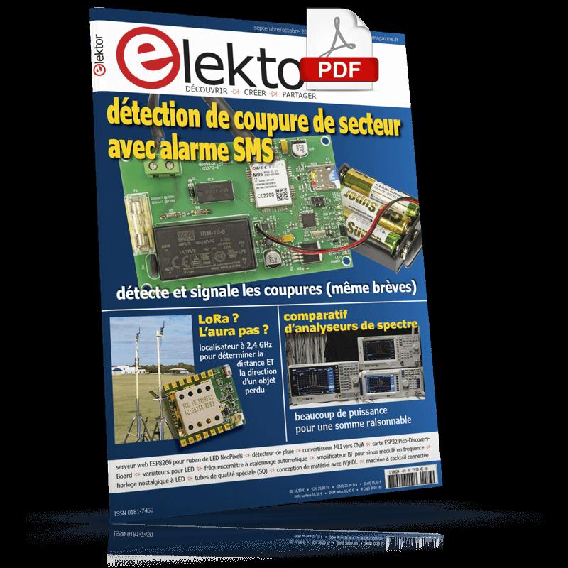 Elektor Magazine Septembre/Octobre 2018 (PDF)