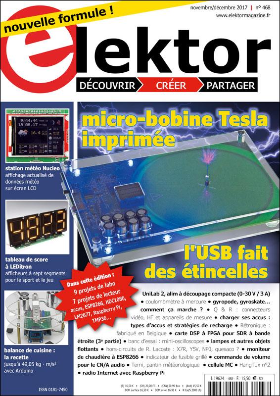Elektor Magazine FR Novembre/Décembre 2017