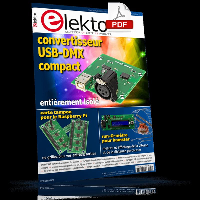 Elektor Magazine Novembre/Décembre 2018 (PDF)