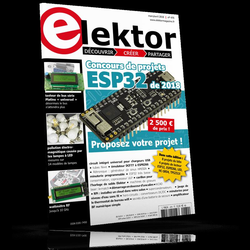 Elektor Magazine Mars/Avril 2018