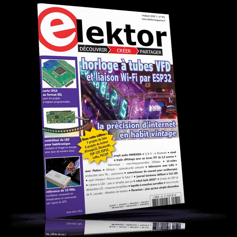 Elektor Magazine Mai/Juin 2018