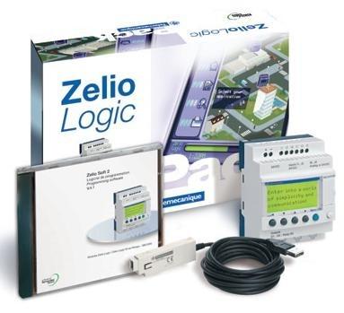 Pack Découverte Zelio Logic SR2PACKBD (matériel + CD-ROM)