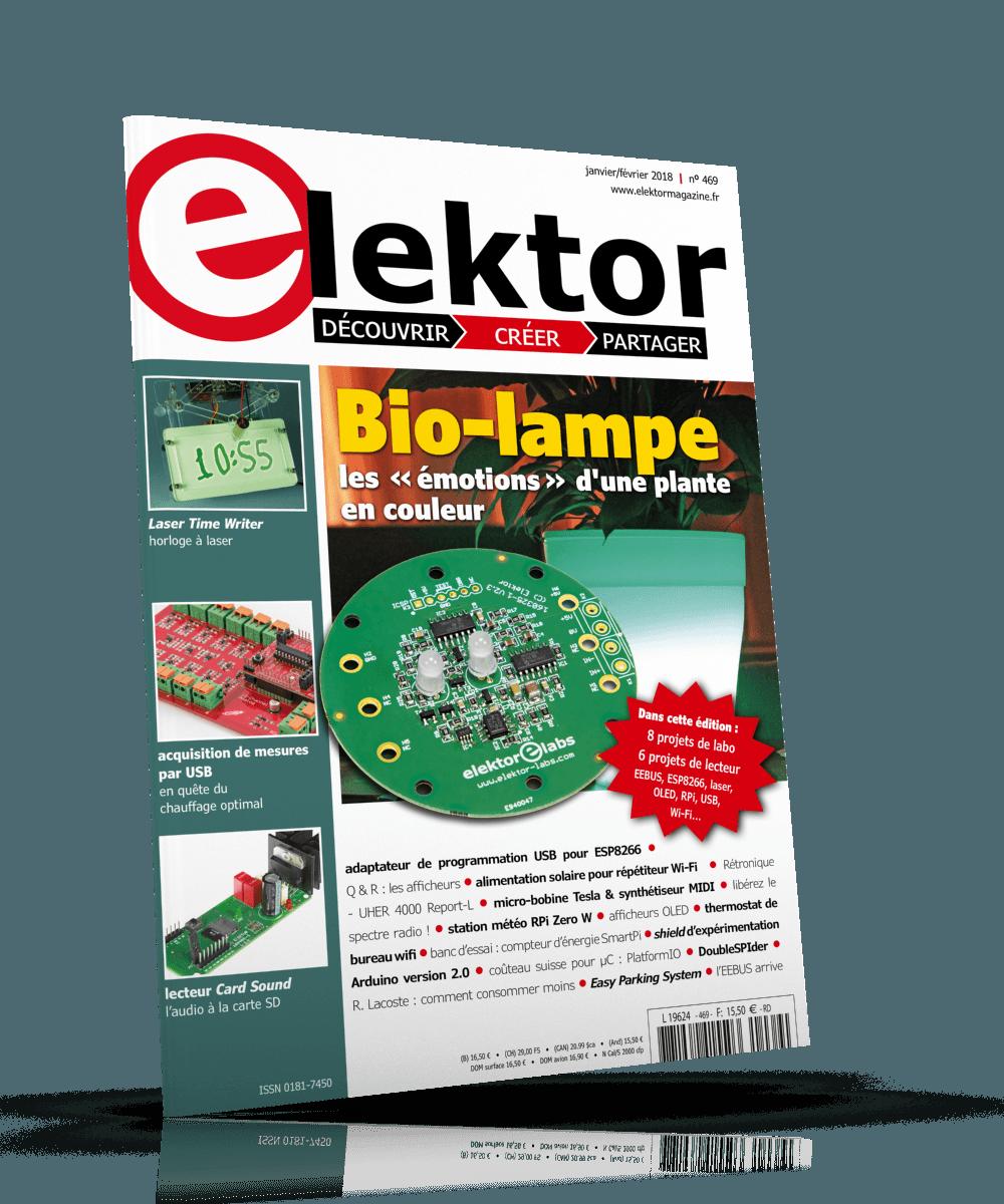 Elektor Magazine Janvier/Fevrier 2018 (PDF)